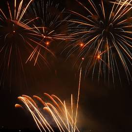 Lake Union Fireworks by Maxwell Krem