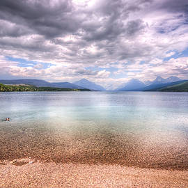Spencer McDonald - Lake View at Glacier National Park