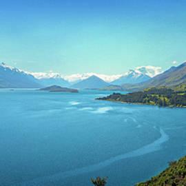 Joan Carroll - Lake Wakatipu New Zealand Panorama