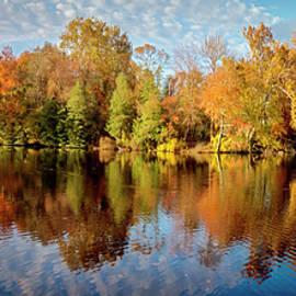 Brian Wallace - Lake Waterford Fall - Pano