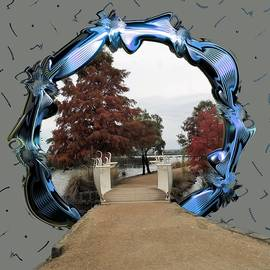 Lake Wendouree Framed by Yolanda Caporn