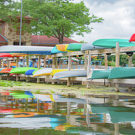 Lake Wingra Marina by Pamela Williams