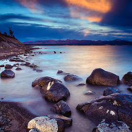 Lake Yellowstone by Inge Johnsson