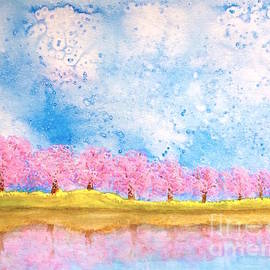 Wonju H - Lakeside blossoms