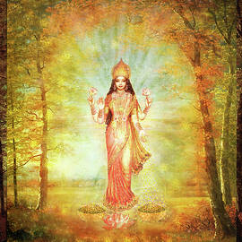 Lakshmi Vision in the Forest  by Ananda Vdovic