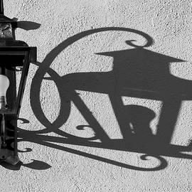 Lamp and Shadow by David Gordon