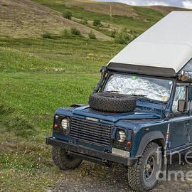 Land Rover Defender Camper Iceland - Edward Fielding