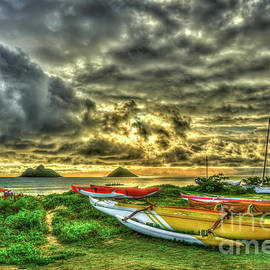 Reid Callaway - Lanikai Beach Sunrise Hawaii Collection Art