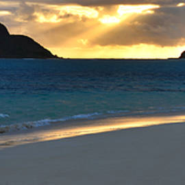 Brian Harig - Lanikai Beach Sunrise Panorama - Kailua Oahu Hawaii