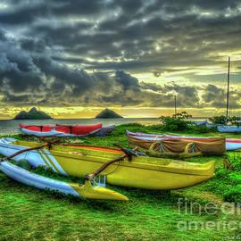 Reid Callaway - Lanikai Beach Sunrise Too Oahu Hawaii Collection Art