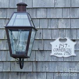 Lantern At 157 Commercial Street, Provincetown by Poet's Eye