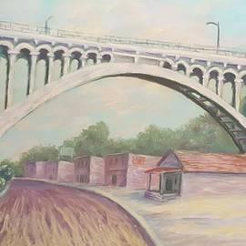 Joann Renner - Larimer Ave Bridge Pittsburgh