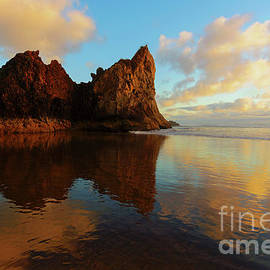 Last Light Reflections by Mike Dawson