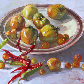 Last Tomatoes from my Garden by Ylli Haruni