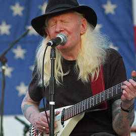 Late Bluesman Johnny Winter by Mike Martin
