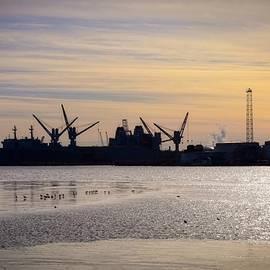 Doug Swanson - Late Day Waterfront