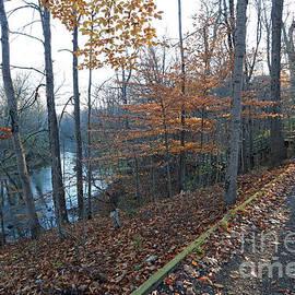 Late fall at Fort Benjamin