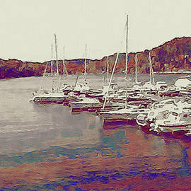 Late Summer Harbor by Susan Maxwell Schmidt