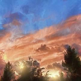 Late Summer Sunset by Kathy Bassett