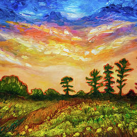 Lilia D - Late summer sunset sky in New England