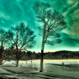David Patterson - Late Sun on Old Forge Pond