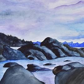 Linda Brody - Late Sunset at the Lake II