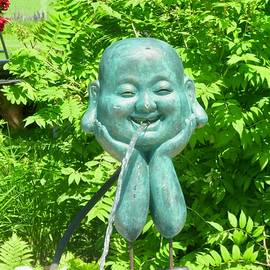 Laughing Buddha by Stephanie Moore