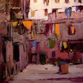 R W Goetting - Laundry day in Venice