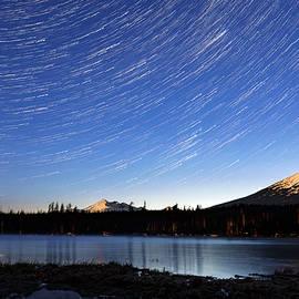 Lava Lake Star Trails - Cat Connor
