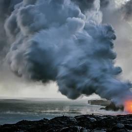 Christopher Johnson - Lava Ocean Entry