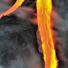 Lava Streams by Heidi Fickinger
