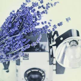 Stephanie Frey - Lavender and Kodak Brownie Camera