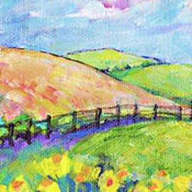 Lavender Fields by Peggy Johnson by Peggy Johnson