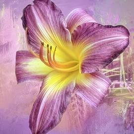 Lavender Mish Mash by Donna Kennedy