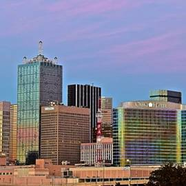 Frozen in Time Fine Art Photography - Lavender Skies in Big D