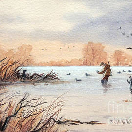 Bill Holkham - Laying Out The Decoys I