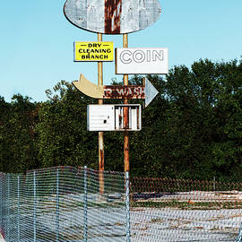 Sharon Popek - Lays Car Wash Sign