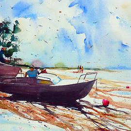 Andre MEHU - Le Bas Pouldu Low tide