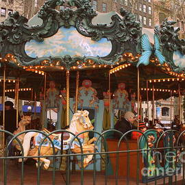 Dora Sofia Caputo Photographic Design and Fine Art - Le Carrousel in Bryant Park, New York City