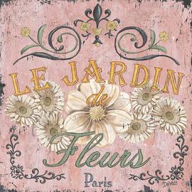 Le Jardin 1 by Debbie DeWitt