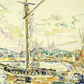 Le Port de Saint Tropez - Paul Signac