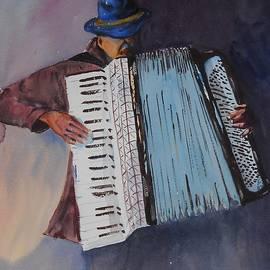 Dominique Serusier - Le Vieil Accordeoniste  The Old Accordion