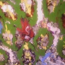 Leaves on spring.  by Marcela Hessari