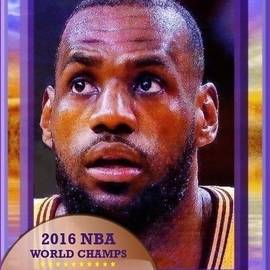 Lebron James Believes by Ray Tapajna
