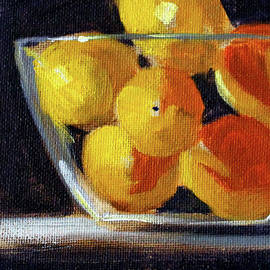 Lemon Bowl by Nancy Merkle