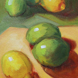 Nancy Merkle - Lemon Lime Still Life