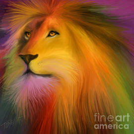 Lion Art  by Mark Tonelli