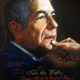 Leonard Cohen by Robert Korhonen