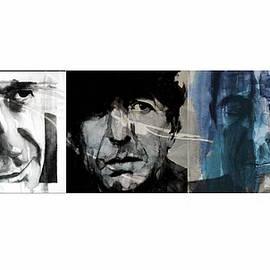 Leonard Cohen Triptych - Paul Lovering