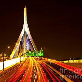 Leonard P. Zakim Bunker Hill Bridge  by Michael Tidwell